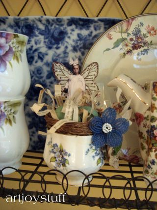 Fairy in a china cup